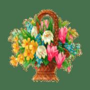 Flores_Flowers-Basket-Picture200z