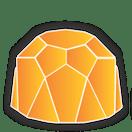 Diamante Médio Plus (Natural Pedras)