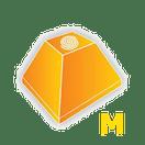 Pirâmide Maia Média Plus (Natural Pedras Deco)