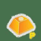 Pirâmide Maia Pequena Plus (Natural Pedras Deco)
